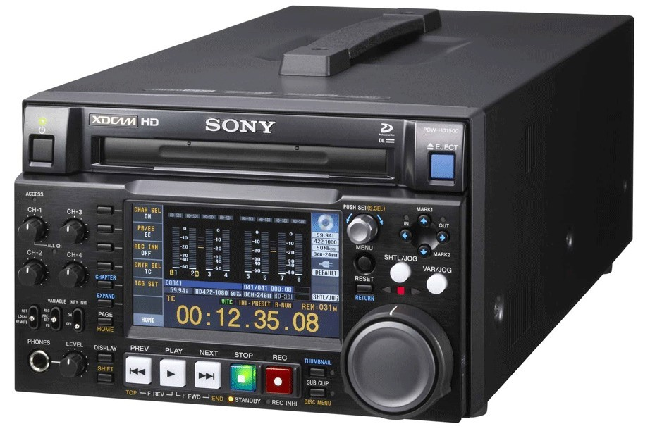 Repair of Sony PDW-HD1200