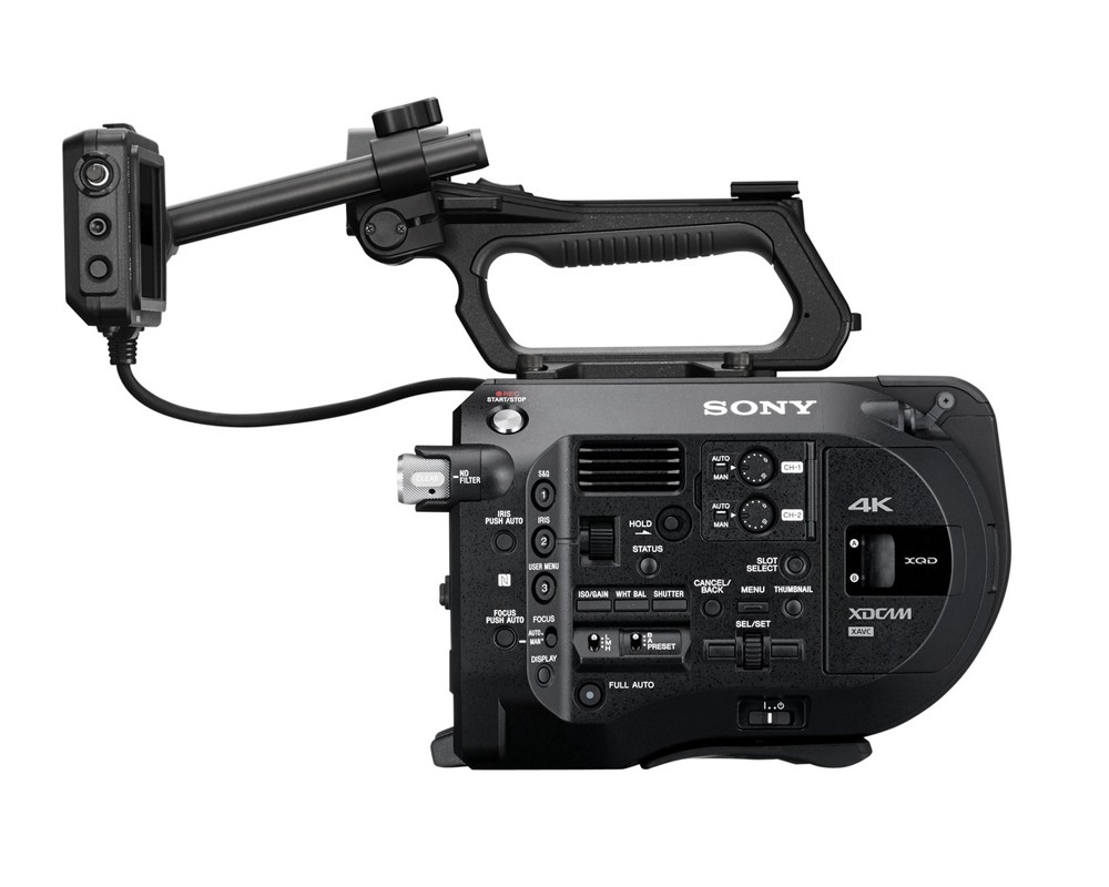 Repair of Sony PXW-FS7